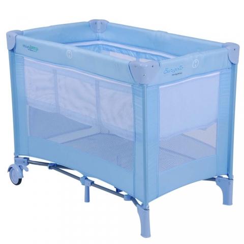 Mini Berço Desmontável Burigotto IXBE5065 Azul