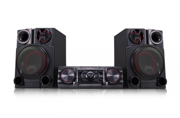Mini System LG CM8360 Multi Bluetooth USB MP3 Efeitos DJ 1800W