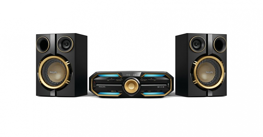 Mini System  Philips  FX30X/78  Com MP3, USB 600 W