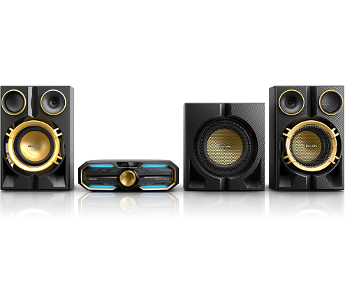 Mini System Philips FX70X/78 1600RMS