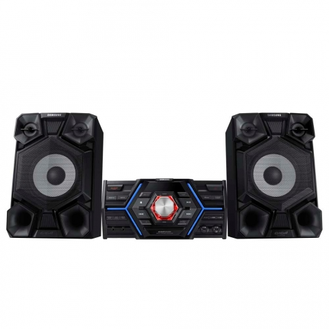 Mini System Samsung MX-J5000 com MP3, Duplo USB, Bluetooth, Modo Futebol e Ripping 1500 W
