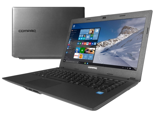 Notebook Compaq Presario CQ-23 Intel Dual Core 4GB 500GB Tela de 14 Windows 10