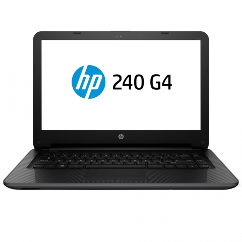 Notebook Hp 240 G4, Intel Core I3, 4G, 500GB, Tela 14, DDR3, USB, Windows 10, Preto
