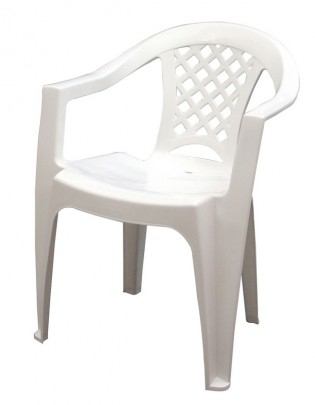Poltrona Iguape Tramontina Branca
