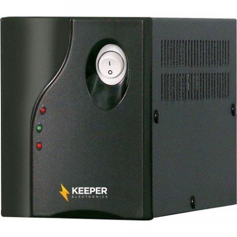 Protetor Eletrônico 1050va Bivolt Protetor I Preto Keeper