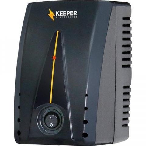 Protetor Eletrônico 500va Bivolt Protetor Ii Preto Keeper