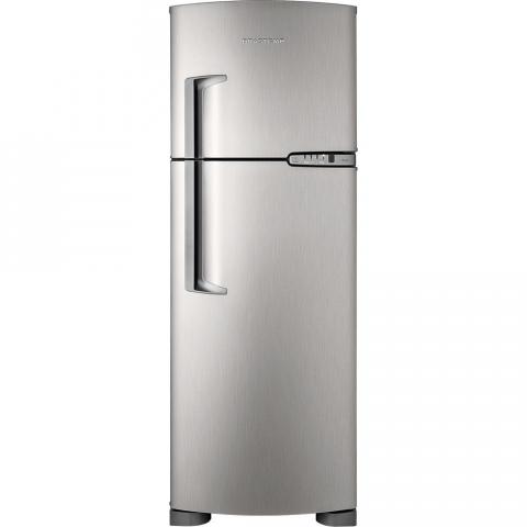 Refrigerador Brastemp Ative BRM39EK 352 litros 2 portas Frost Free Platinum