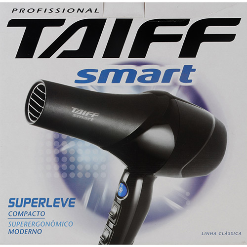 Secador de Cabelos 1300W Smart - Taiff