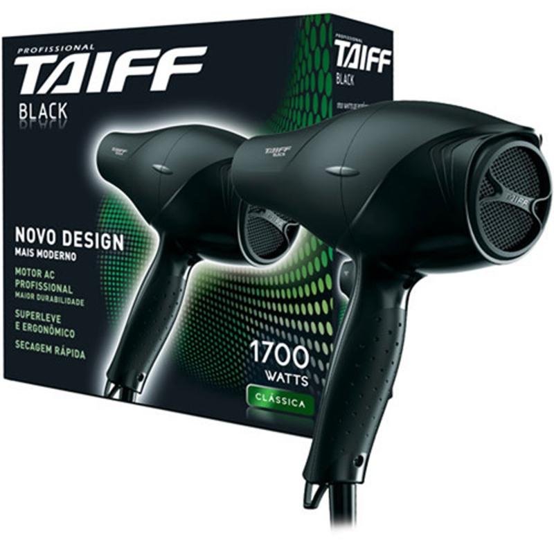 Secador Taiff Black - 1.700 W