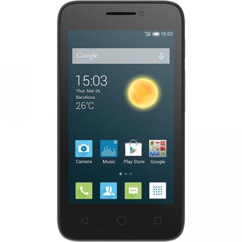 Smartphone Alcatel Pixi 3 Desbloqueado Android 4.4 Tela 4.5 4GB Wi-Fi Câmera de 8MP Preto