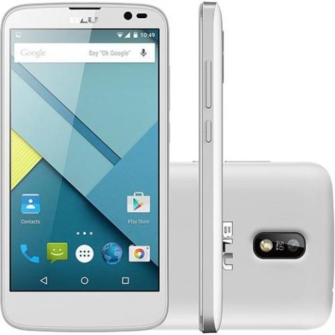Smartphone Blu Studio G D790L 5.0 Dual Branco, Câmera 5MP, 4GB, Android 4.4 Quad Core