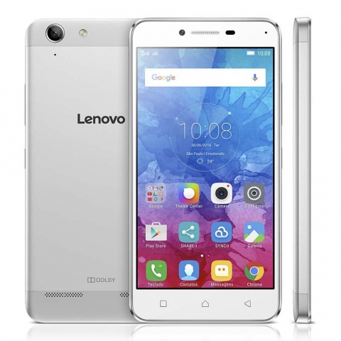 Smartphone Lenovo Vibe K5 Dual Chip Android Tela 5 16GB 4G Câmera 13MP Cinza