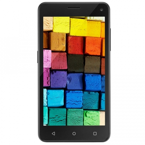 Smartphone Multilaser Ms50 Dual Preto Android 5.0, 8gb, Câmera 8mp, Tela 5.0