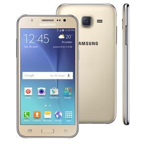 Smartphone Samsung Galaxy J5 Duos J500B, 4G Android 5.1 Quad Core Dourado