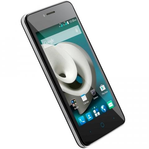 Smartphone ZTE Kis C341 Quad Core 1.2Ghz, Android 4.4, Tela 4.0, 4GB, Câmera 5 MP, Dual SIM, 3G, Desbloqueado Branco