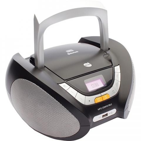 Som Portátil Dazz DZ-651394 CD Player Rádio FM com Entrada USB e Auxiliar 5W