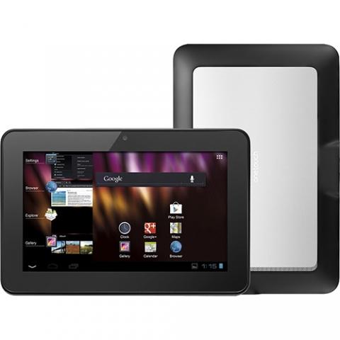 Tablet Alcatel Evo 4GB Wi-fi 3G Tela 7 Android 4.0 Processador Cortex A8 1.0 GHz - Preto