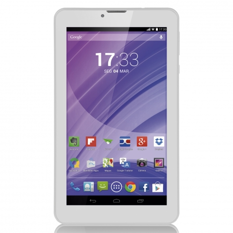 Tablet Multilaser M7 3g Quad Core Branco Nb224