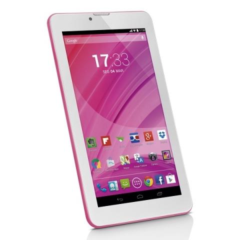 Tablet Multilaser M7 3g Quad Core Rosa  Nb225
