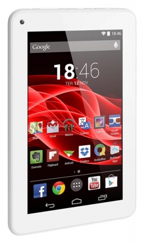 Tablet Multilaser M7s NB185 Tela 7  Android 4.4 8GB  Wi-Fi  Quad Core Branco
