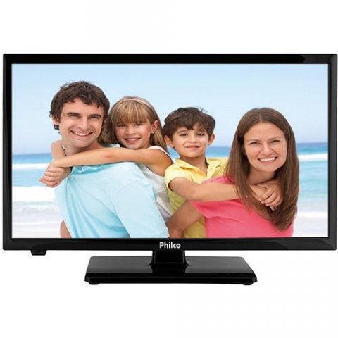 TV LED 20 Philco PH20U21D HD Conversor Digital 2 HDMI 1 USB 60Hz