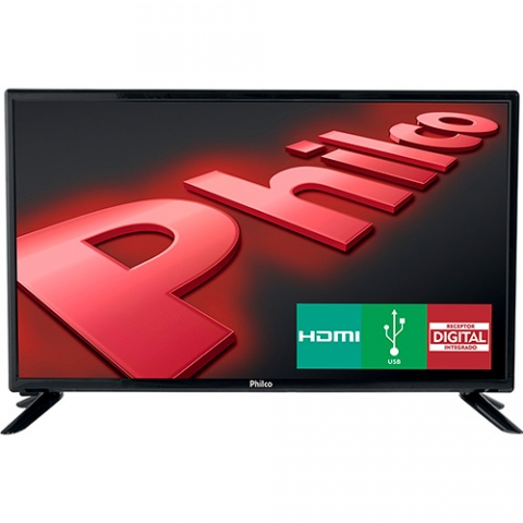 TV LED 28 Philco PH28D27D HD com Conversor Digital USB 2 HDMI 60Hz