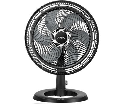 Ventilador Arno Silence Force 2 em 1 40cm Preto