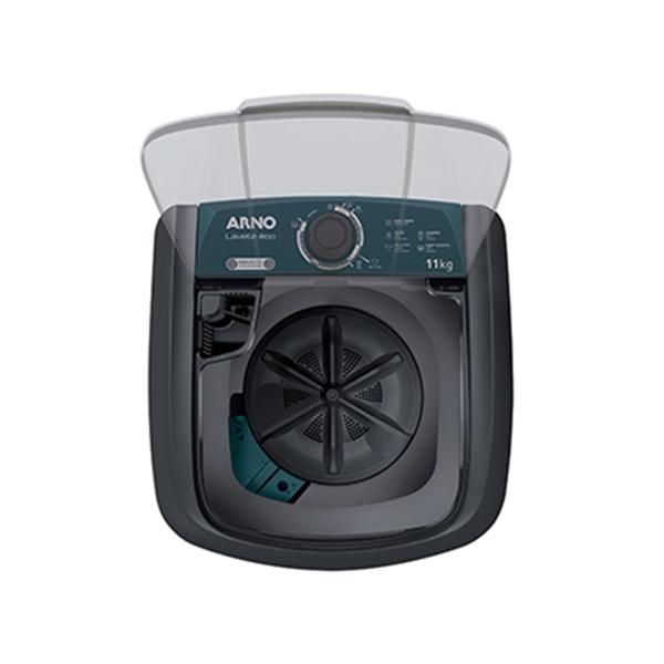 Lavadora de Roupas Arno Lavete Eco Cinza ML81 5 programas de lavagem 11kg 220V