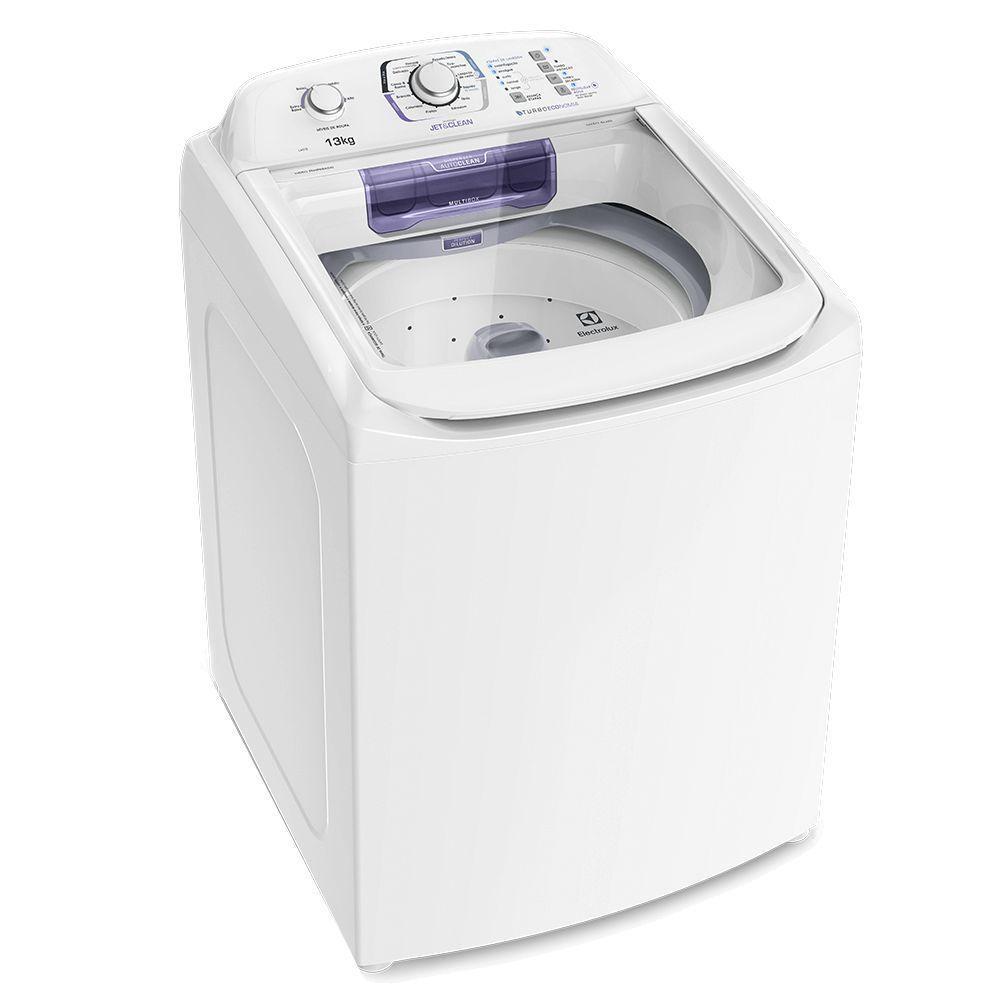 Lavadora de Roupas Electrolux LAC13 Dispenser autolimpante com Jet&Clean 13 kg Branca 220V