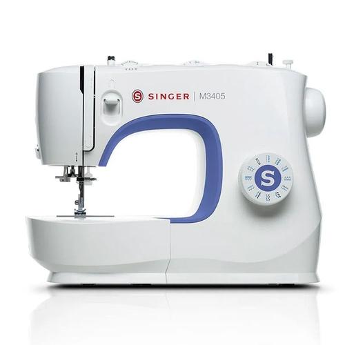 Máquina de Costura Singer Portátil Doméstica M3405 Branca 220V
