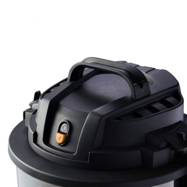 Aspirador de Pó Wap GTW Inox 20 sucção de 285 mbar 1600W 220W