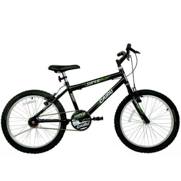 Bicicleta Aro 20 Cairu Super Boy Masculina Preto