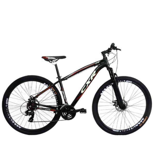 Bicicleta Cairu Mountain Bike Quadro em alumínio e Freios mecânico CXR29 Preto/Vermelho