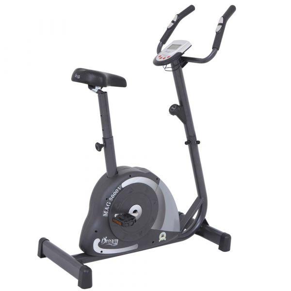 Bicicleta Ergométrica Magnética Vertical Dream MAG 5000V Cinza/Preto