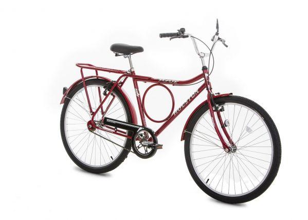 Bicicleta Houston Forte VB Aro 26 Vermelha