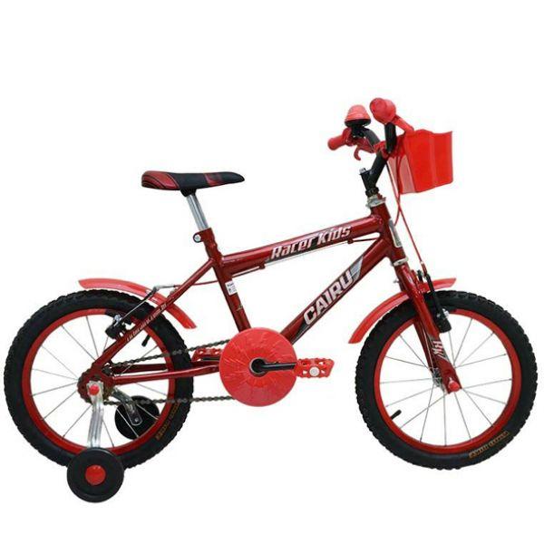 Bicicleta Infantil Cairu Racer Kids Aro 16 Masculina Vermelho