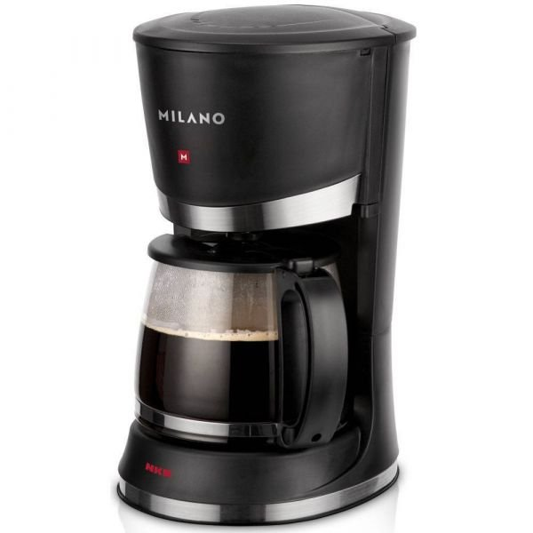 Cafeteira Elétrica Nks Milano Tsk 426 Jarra de Vidro Para 26 Xicaras 127V