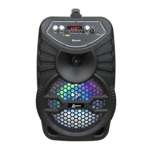 Caixa de Som Amplificada Lenoxx CA100 Portátil USB 120W Bluetooth Bivolt