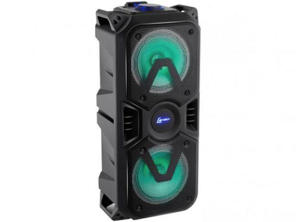 Caixa de Som Amplificada Lenoxx CA400 Portátil USB 200W Bluetooth Bivolt