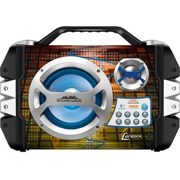 Caixa de Som Bluetooth Amplificada Sound Wave CA 325 Lenoxx 100W