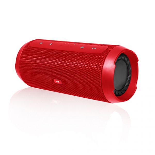 Caixa de Som Portatil Speaker Bluetooth Pure Sound SP-B150 C3Tech Vermelho