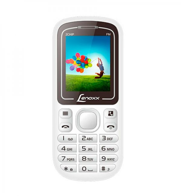 Celular Lenoxx Dual Cx904 Branco/Lilás
