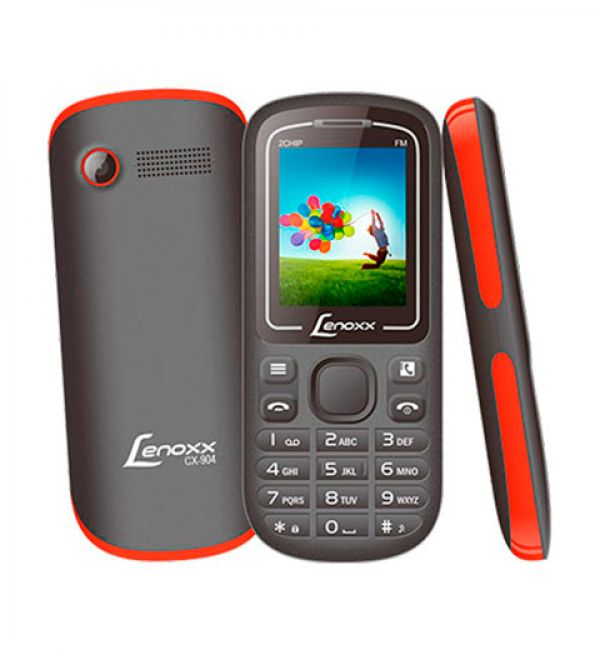 Celular Lenoxx Dual Cx904 Preto/Vermelho
