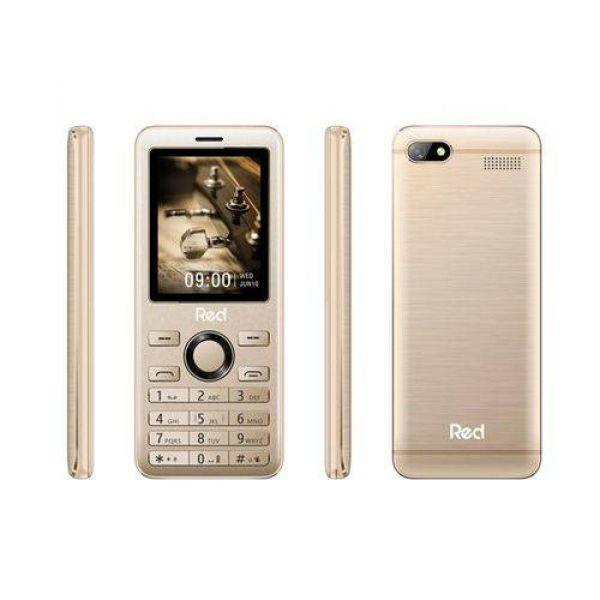 Celular Red Mobile Prime Tela 2.4 Dourado M012F