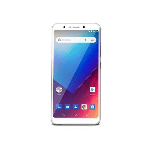 Celular Smartphone Multilaser MS60X NB738 4G 16GB Tela 5,7 Android 8.1 Branco