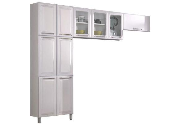 Cozinha Compacta Itatiaia Tarsila 10 Portas Branco