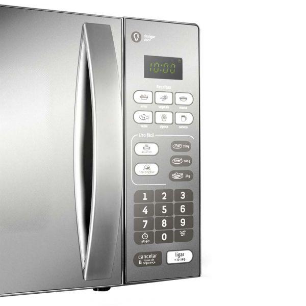 Forno de Micro-ondas Consul CM020BF com Menu Uso Fácil - 20 Litros 220V