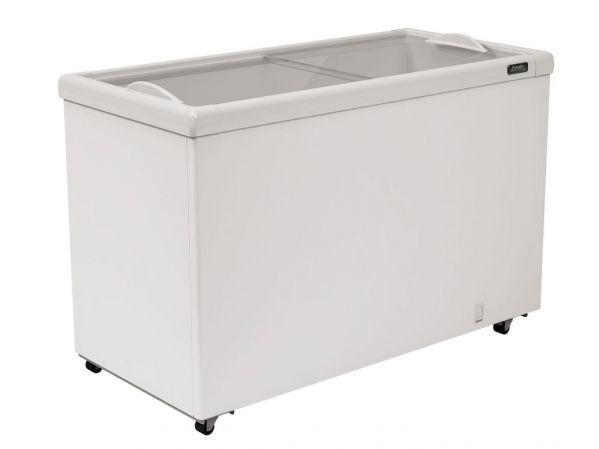 Freezer Esmaltec Expositor Horizontal AF400 - 366 Litros