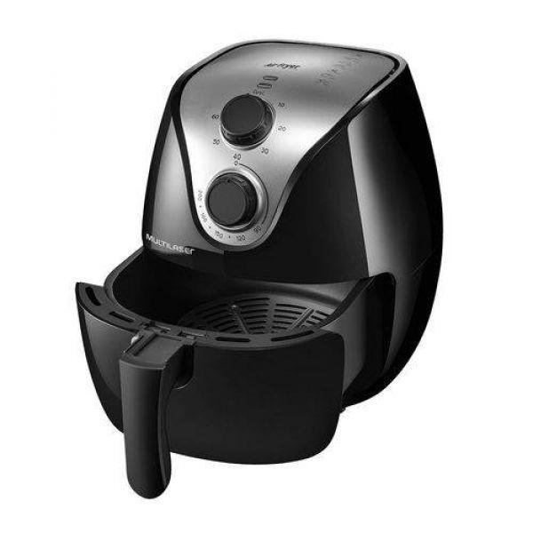 Fritadeira Elétrica Air Fry Gourmet 4L Sem Óleo Multilaser