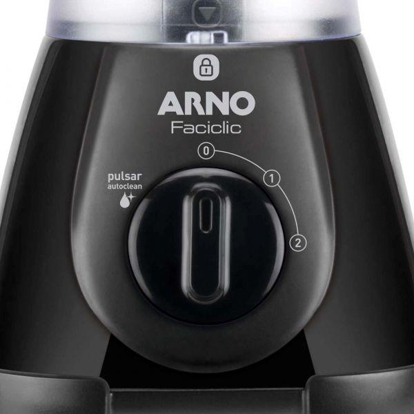 Liquidificador Arno New Faciclic LN38 - Preto